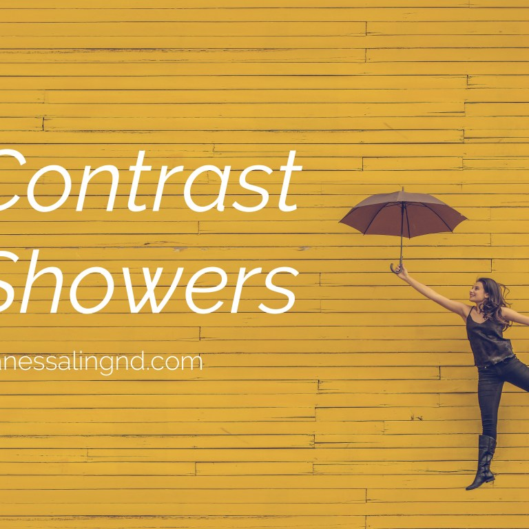 Contrast Showers – A simple & quick whole body boost