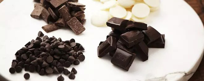 Tipos e funções dos chocolates