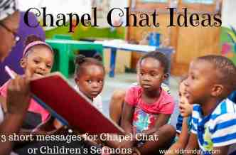 Chapel Chat Ideas (2)