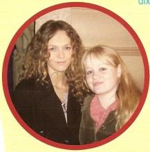 Nos 17 anos de Pauline, em 2006/2007