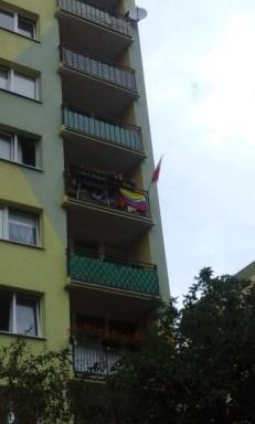 Banderas hermanas: Colombia y Polonia
