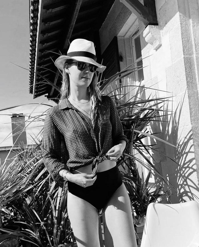 Claire Andreewitch Culotte Taille Haute Nero