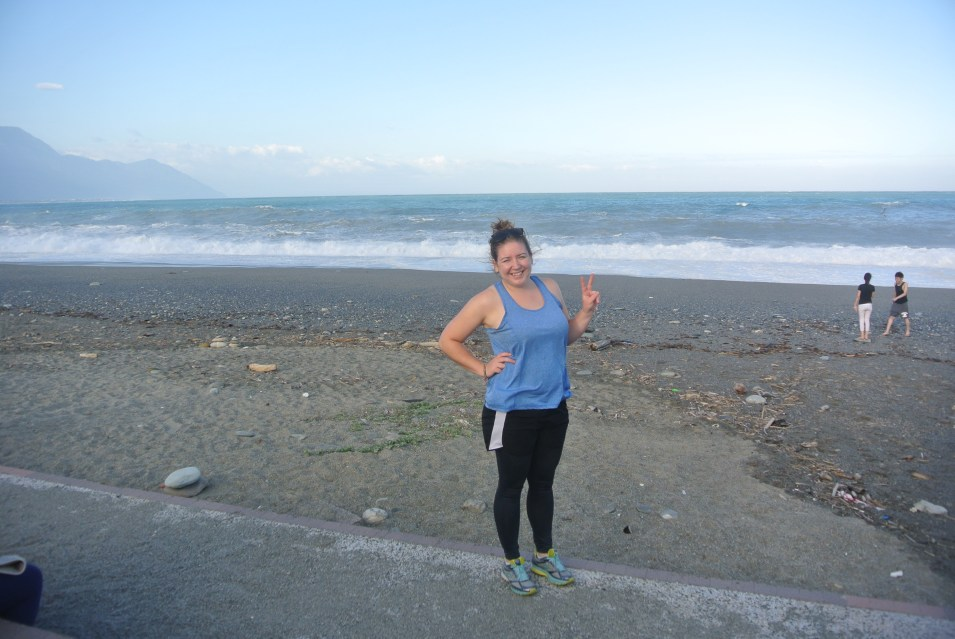 Me on the West Coast of Taiwan