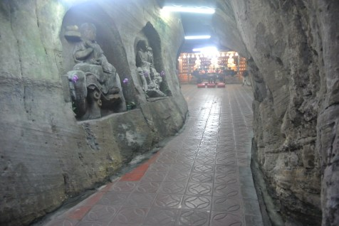 The open area of the Fairy Cave before walking/crawling into the small shrine area.