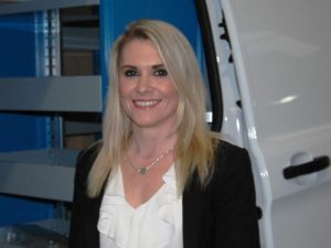 Imperial Commercials' group corporate sales manager, Rachael Helliwell
