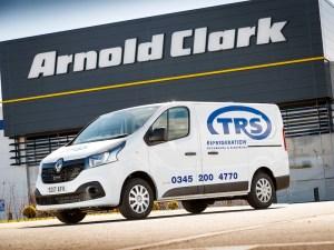 TRS's expanded fleet of Renault Trafic vans