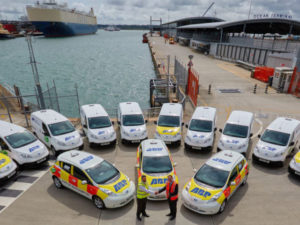 Port of Southampton buys fleet of Nissan electric vans