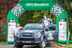 MPG Marathon 2017 van winners