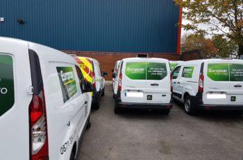 Europcar's Trafford Park Van Hub
