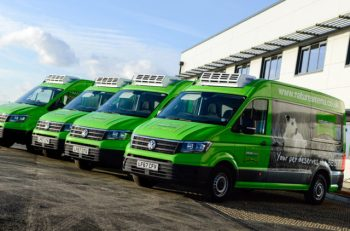 Natures Menu is changing nearly 60 of its 72 LCVs to Volkswagen Crafter