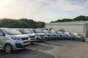 Spectrum replaces fleet with 25 Peugeot Travellers