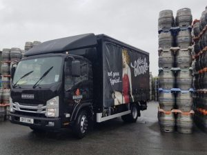 Robinsons becomes latest brewery to deploy Isuzu rigid