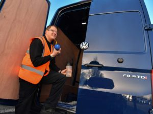 Van Drivers are on the Road to Good Health