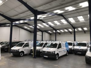 Bournville Village Trust is using the vans for its service and maintenance team.