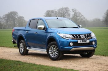 Mitsubishi L200 gets an increased maximum braked towing capacity of 3.5 tonnes