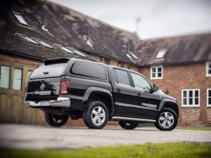 The Truckman Grand, part of the range of approved hardtops available for the VW Amarok