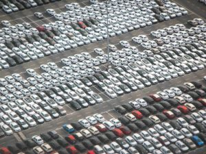New light commercial vehicle registrations fell for the first time since 2012