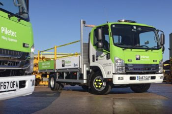 Successful first Isuzus lead to five more for Piletec