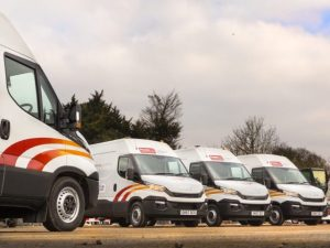 The Iveco Daily vans join UK Power Networks' 6,000-strong fleet.