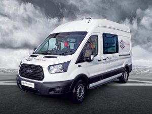 Cartwright will showcase its Ford Transit welfare vehicle at the CV Show.