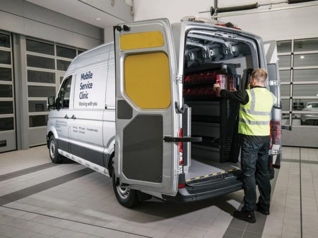 Winton Service Van