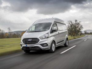 Best Medium Panel Van: Ford Transit Custom