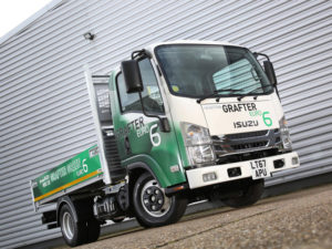 The Grafter Green uses a brand-new Isuzu RZ4E 1898cc four-cylinder Euro six diesel