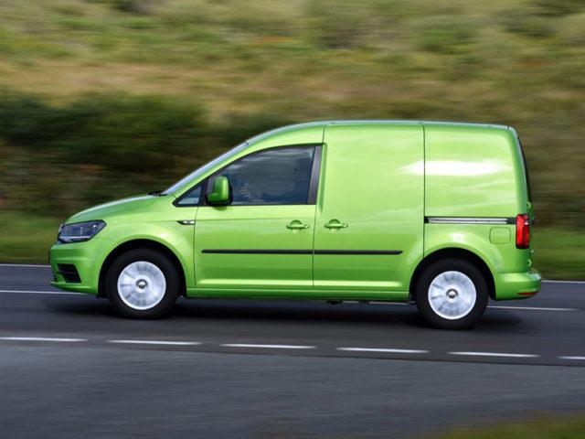 Best Light Panel Van: Volkswagen Caddy