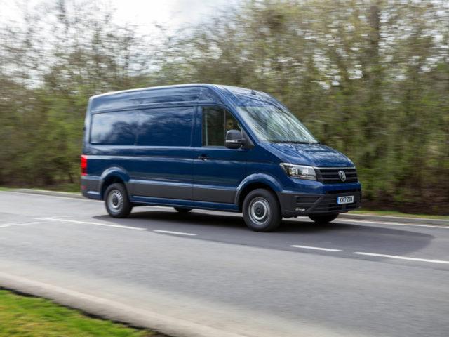 Best Large Panel Van: Volkswagen Crafter/MAN TGE