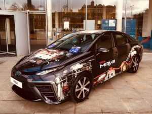 The launch of the Oxfordshire Hydrogen Hub is said to be an important step towards realising Oxford's ambition to introduce the country's first zero emission zone in 2020