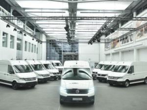 The Volkswagen eCrafter starts UK trials ahead of its September launch.