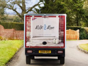 Milk & More has chosen Mediafleet to rebrand its entire 1,200-strong fleet