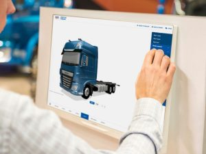 DAF Trucks' online configurator provides a 360-degree view