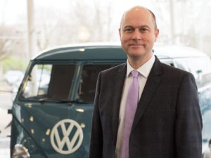 James Douglas, head of sales operations, Volkswagen Commercial Vehicles
