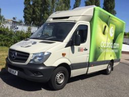 Ocado's hydrogen-powered delivery van will be deployed in West Drayton.