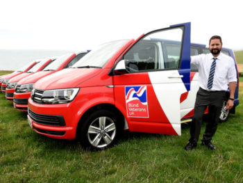 Blind Veterans UK has added six new Transporters to its fleet