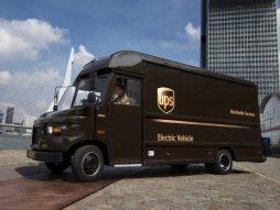 UPS electric van