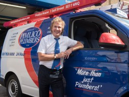 Charlie Mullins, CEO and founder of Pimlico Plumbers