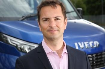 Sascha Kaehne is to lead Iveco in the UK & Ireland