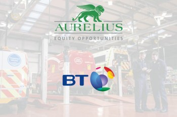 Aurelius' acquisition of BT Fleet Solutions will be followed by a rebranding of the company, yet to be revealed