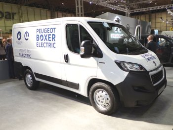 Electric vans already benefit from an £8,000 Plug-in Van Grant