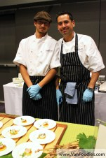 Chefs from the Sonora Room Restaurant