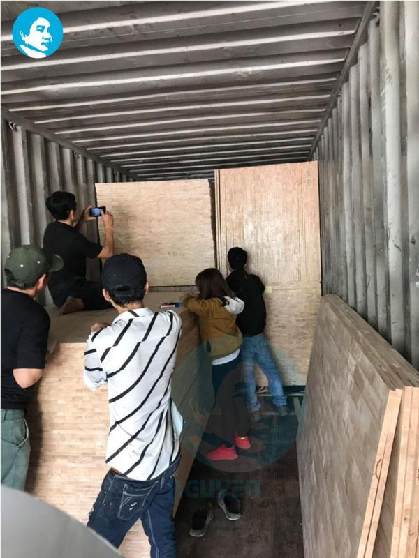 Phân phối ván ghép cao su giá kho tại TP. Biên Hòa
