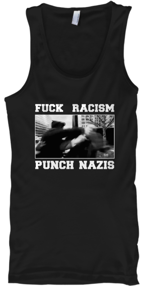 punch nazis shirt