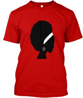 Natural Beauty Classic Red T-Shirt Front