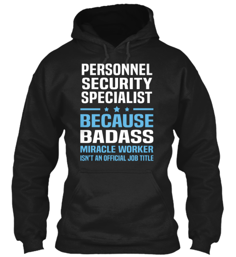 Security Personnel Specialist