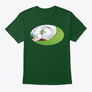 Tree Planted By The River Deep Forest T-Shirt Front