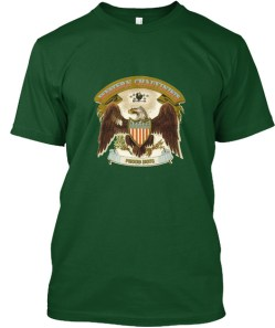 Western Chauvinist Proud Boys Deep Forest T-Shirt Front