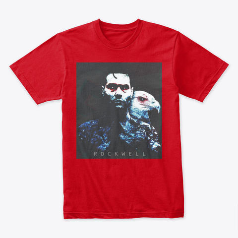 Rockwell Activated! Red T-Shirt Front