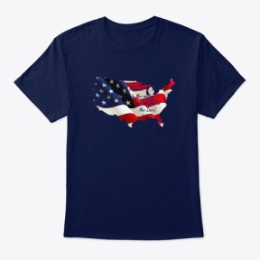 Patriotic Collection Navy T-Shirt Front